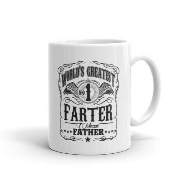 World's Greatest Farter, I mean father dad gift Coffee Mug-Mug-BelDisegno-11oz-BelDisegno