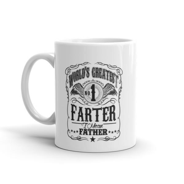 World's Greatest Farter, I mean father dad gift Coffee Mug-Mug-BelDisegno-BelDisegno