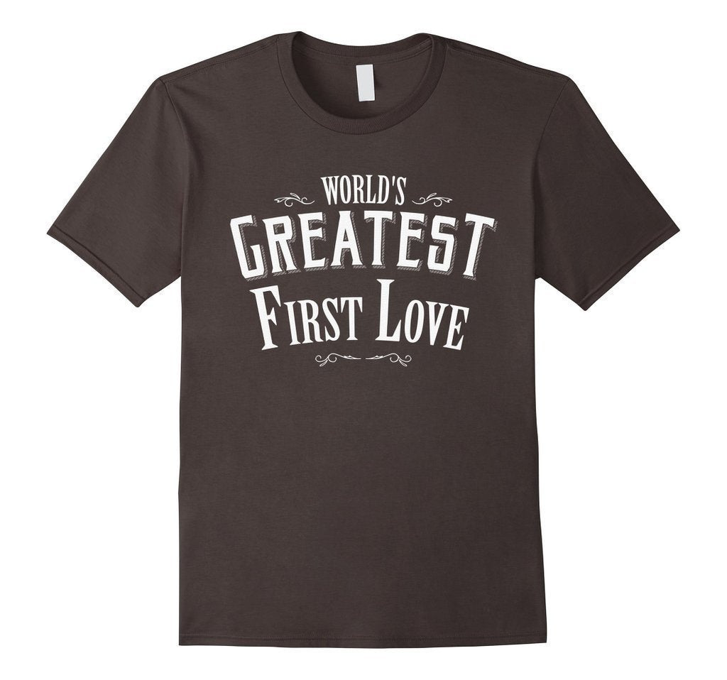 World's Greatest first Love boyfriend or girlfriend TShirt-T-Shirt-BelDisegno-Asphalt-S-Men-BelDisegno