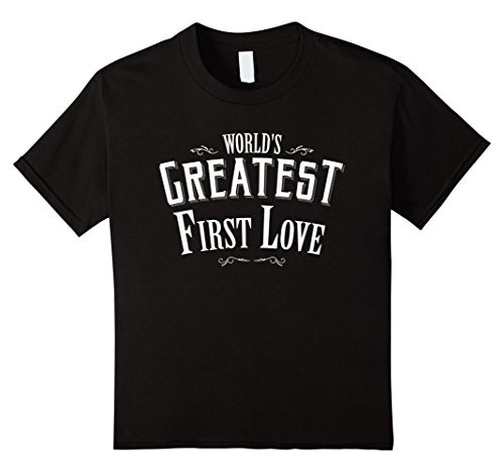 World's Greatest first Love boyfriend or girlfriend TShirt-T-Shirt-BelDisegno-Black-S-Men-BelDisegno