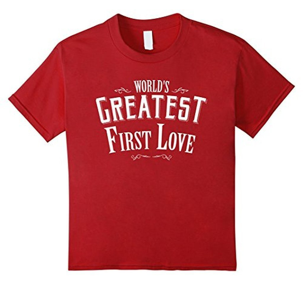 World's Greatest first Love boyfriend or girlfriend TShirt-T-Shirt-BelDisegno-Cranberrt-S-Men-BelDisegno