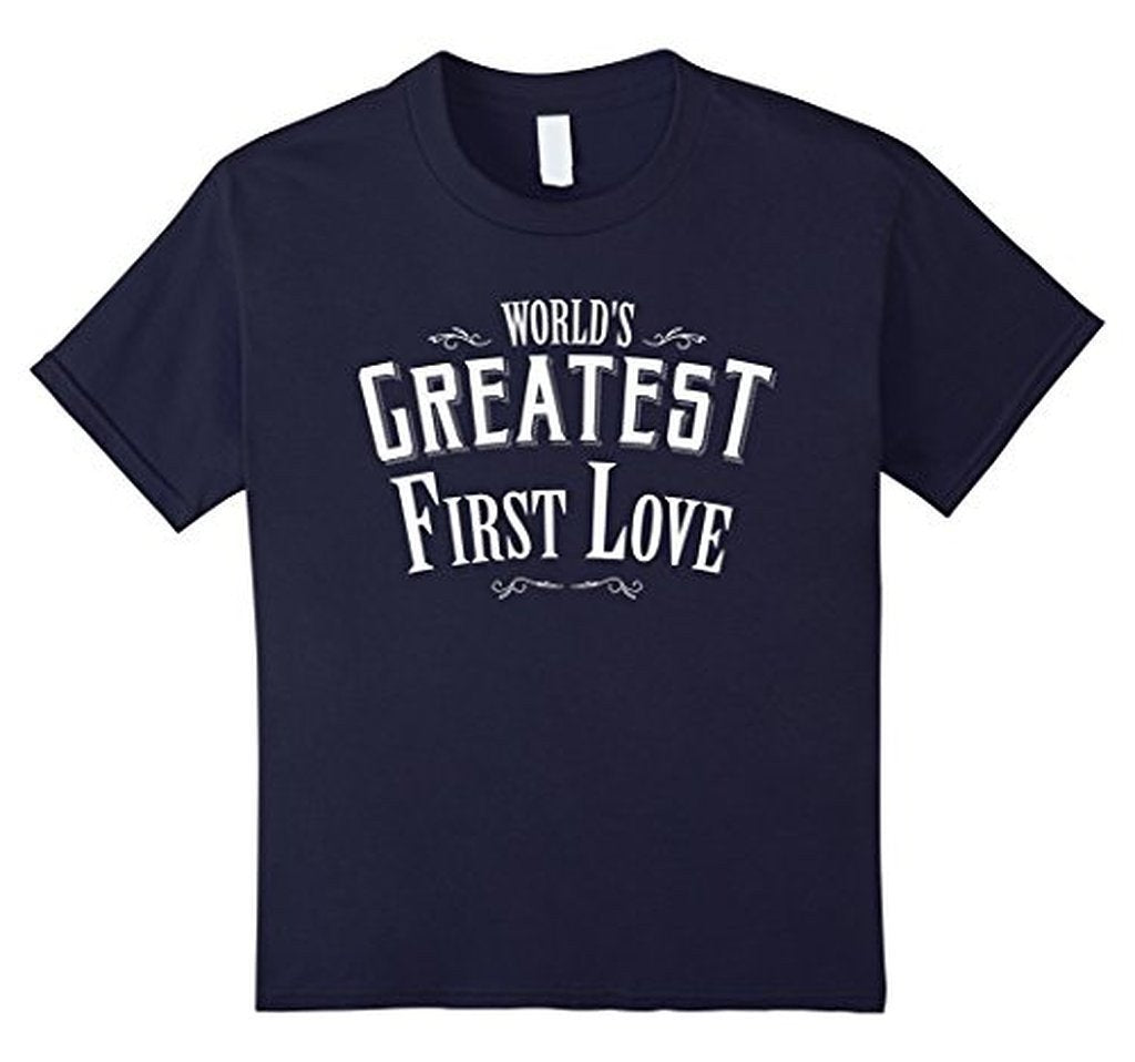 World's Greatest first Love boyfriend or girlfriend TShirt-T-Shirt-BelDisegno-Navy-S-Men-BelDisegno
