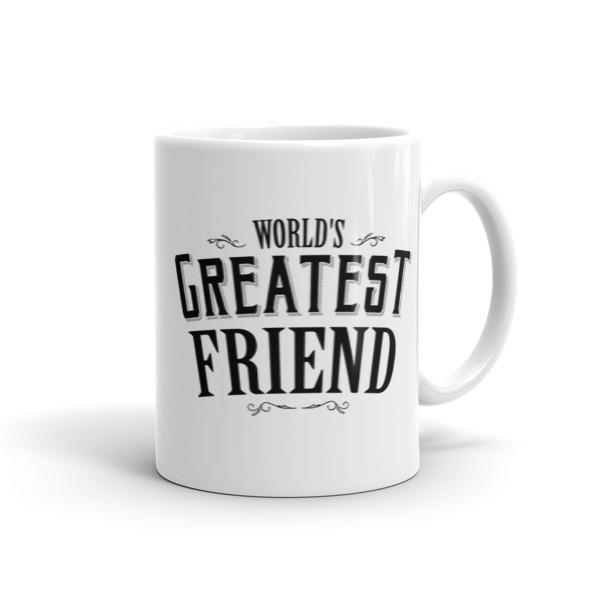 World's Greatest Friend Coffee Mug 11oz Mug BelDisegno