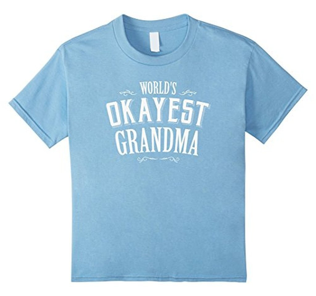 World's Greatest GRANDMA T Mother's Day Birthday Gift T-shirt Baby Blue / XL T-Shirt BelDisegno