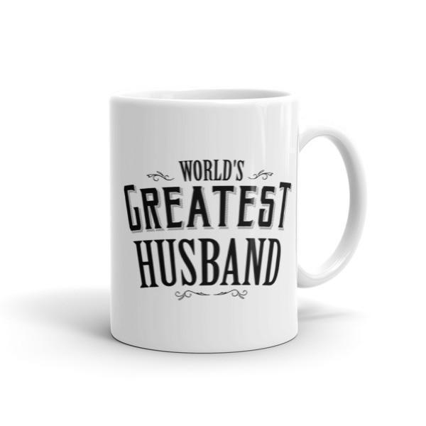 World's Greatest Husband Coffee Mug 11oz Mug BelDisegno
