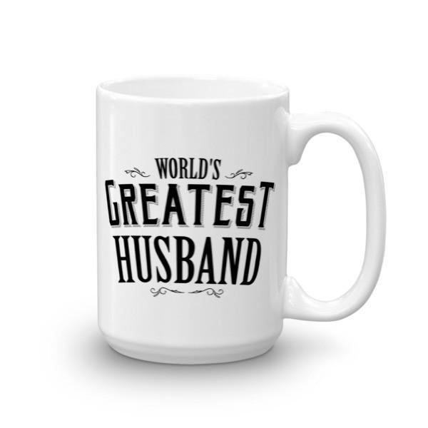 World's Greatest Husband Coffee Mug 15oz Mug BelDisegno