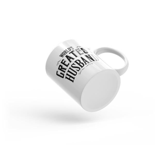 World's Greatest Husband Coffee Mug  Mug BelDisegno