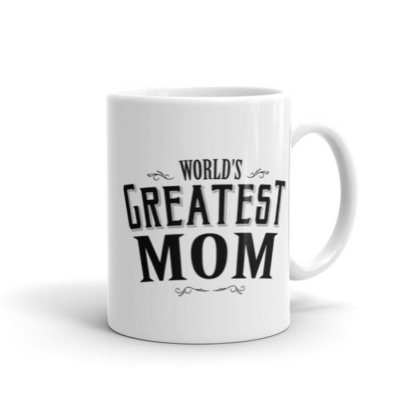World's Greatest Mom Coffee Mug 11oz Mug BelDisegno