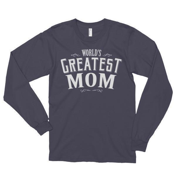 World's Greatest Mom Funny T-shirt  T-Shirt BelDisegno