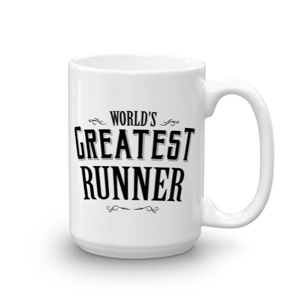 World's Greatest Runner Coffee Mug 15oz Mug BelDisegno