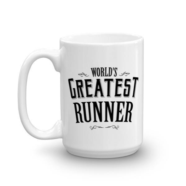 World's Greatest Runner Coffee Mug  Mug BelDisegno