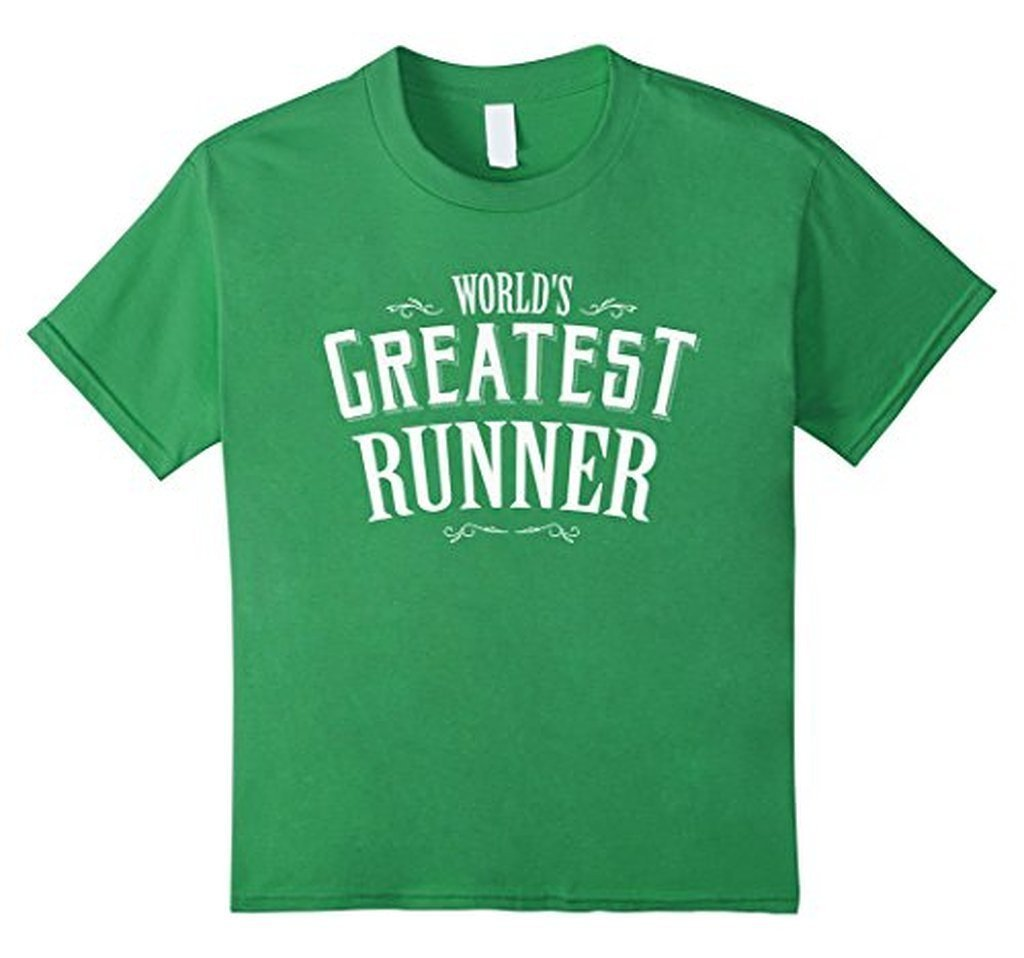 World's Greatest runner World's okayest T-shirt Grass / 3XL T-Shirt BelDisegno