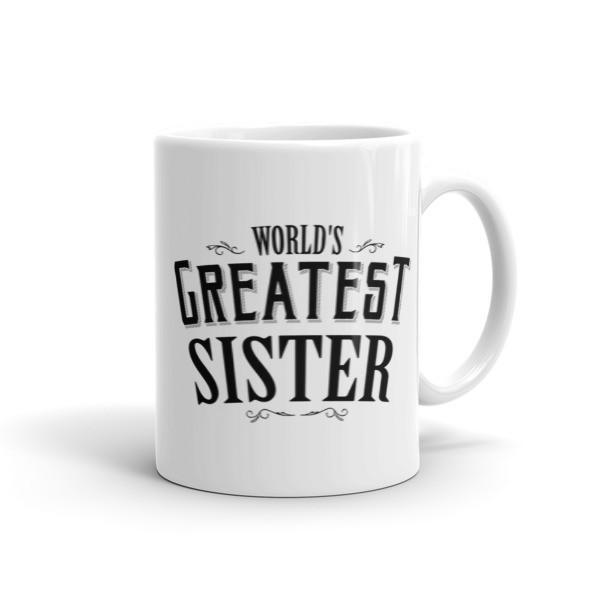World's Greatest Sister Coffee Mug 11oz Mug BelDisegno