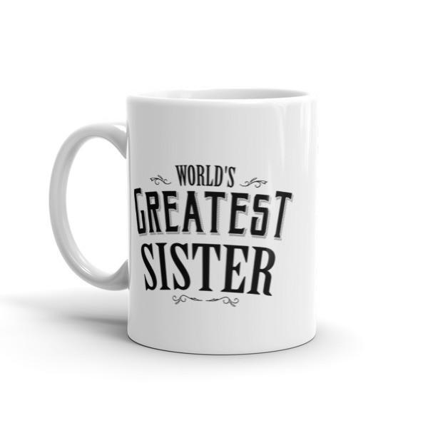 World's Greatest Sister Coffee Mug  Mug BelDisegno