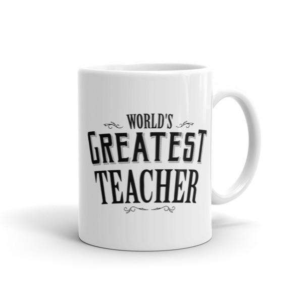 World's Greatest Teacher Coffee Mug 11oz Mug BelDisegno