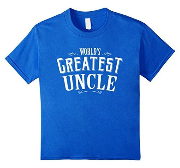 World's Greatest Uncle Funny T-shirt Royal Blue / 3XL T-Shirt BelDisegno
