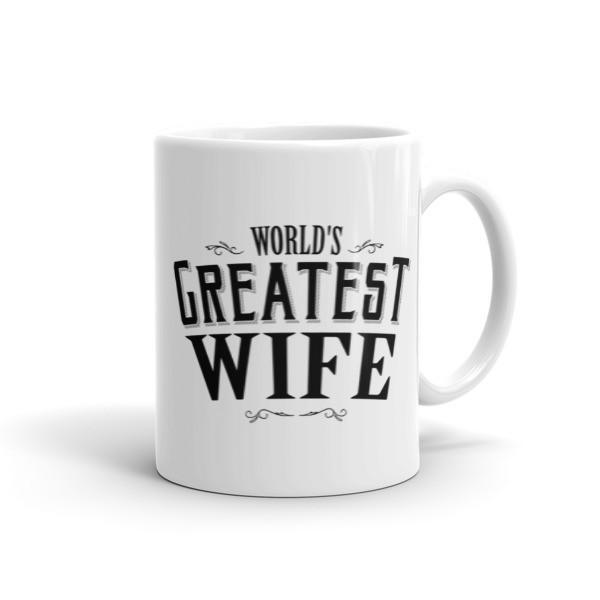 World's Greatest Wife Coffee Mug 11oz Mug BelDisegno