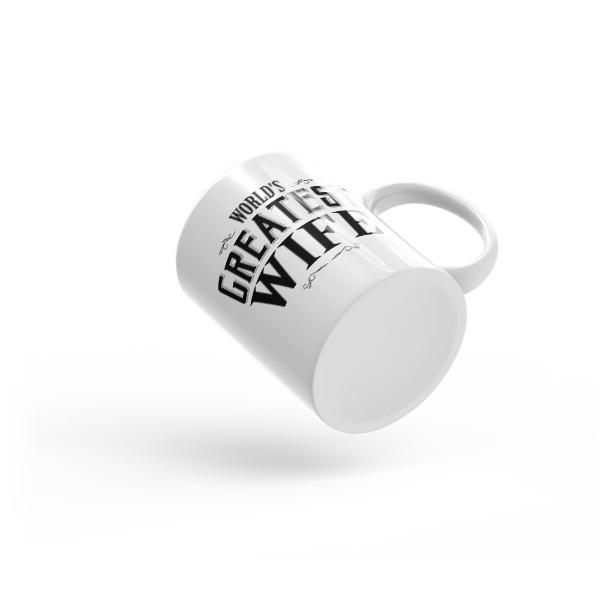 World's Greatest Wife Coffee Mug  Mug BelDisegno