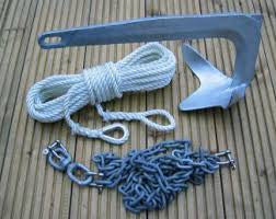 Choosing the Correct Anchor, Chain, and Rope for Your Boat
