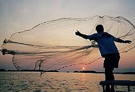 How to Throw A Cast Net - Video