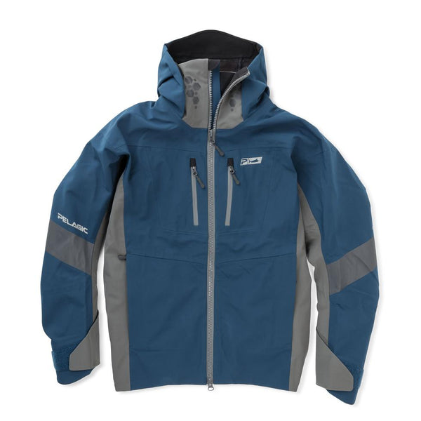 Pelagic Tempest Pro Storm Fishing Jacket - Navy