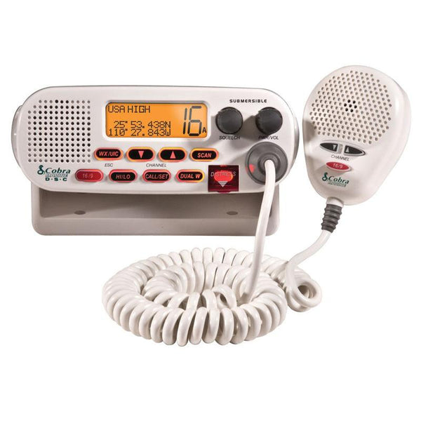 Cobra Marine Class-D Fixed Mount VHF Radio
