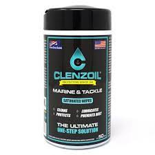 Clenzoil Marine & Tackle Saturated Wipes - Dogfish Tackle & Marine
