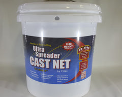 "Fitec 10' with 3/8"" Mesh GS-1500 Ultra Spreader Cast Net #10510"