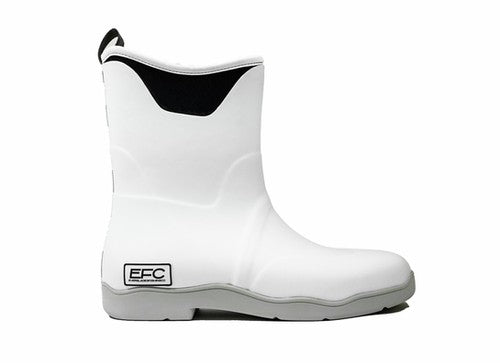 Everglades Fishing Company Deck Boots - White