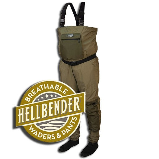 Frogg Togg Hellbender Breathable Stocking Foot Wader.