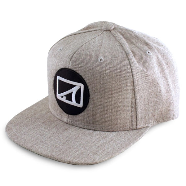 Skinny Water Culture Drum Circle SnapBack -Hea/Gry