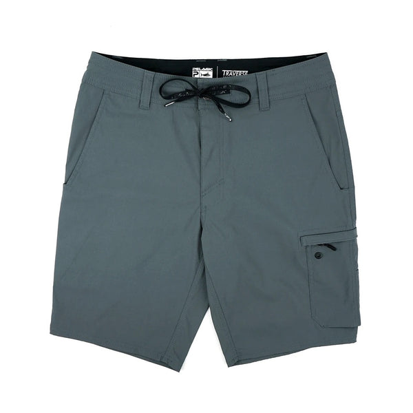 Pelagic Travese Fishing Short-Charcoal