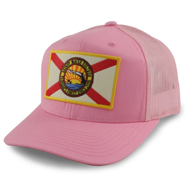 Skinny Water Culture Cracker SnapBack - Pink