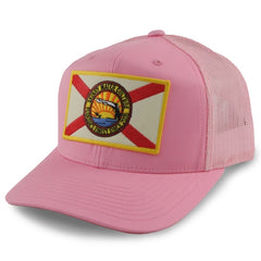 Skinny Water Culture Cracker SnapBack - Pink - Dogfish Tackle & Marine