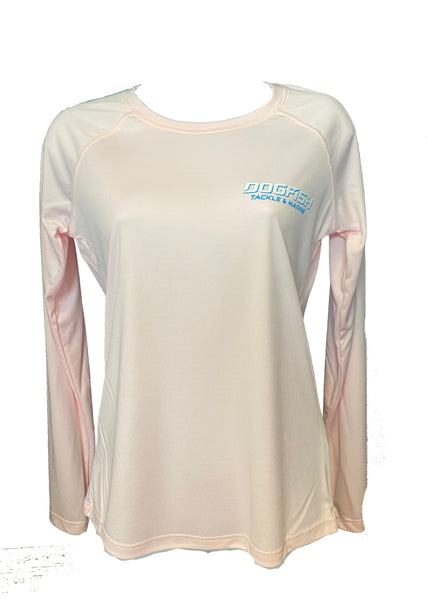 Dogfish Ladies Tarpon UPF LS Pink