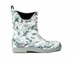 Everglades Fishing Company Deck Boot - Camo