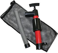 "Invincible Portable 12"" Kayak Hand Pump With Mesh Bag - BR57001"