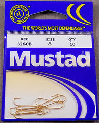 Mustad Aberdeen Hook 3261-GL - Dogfish Tackle & Marine