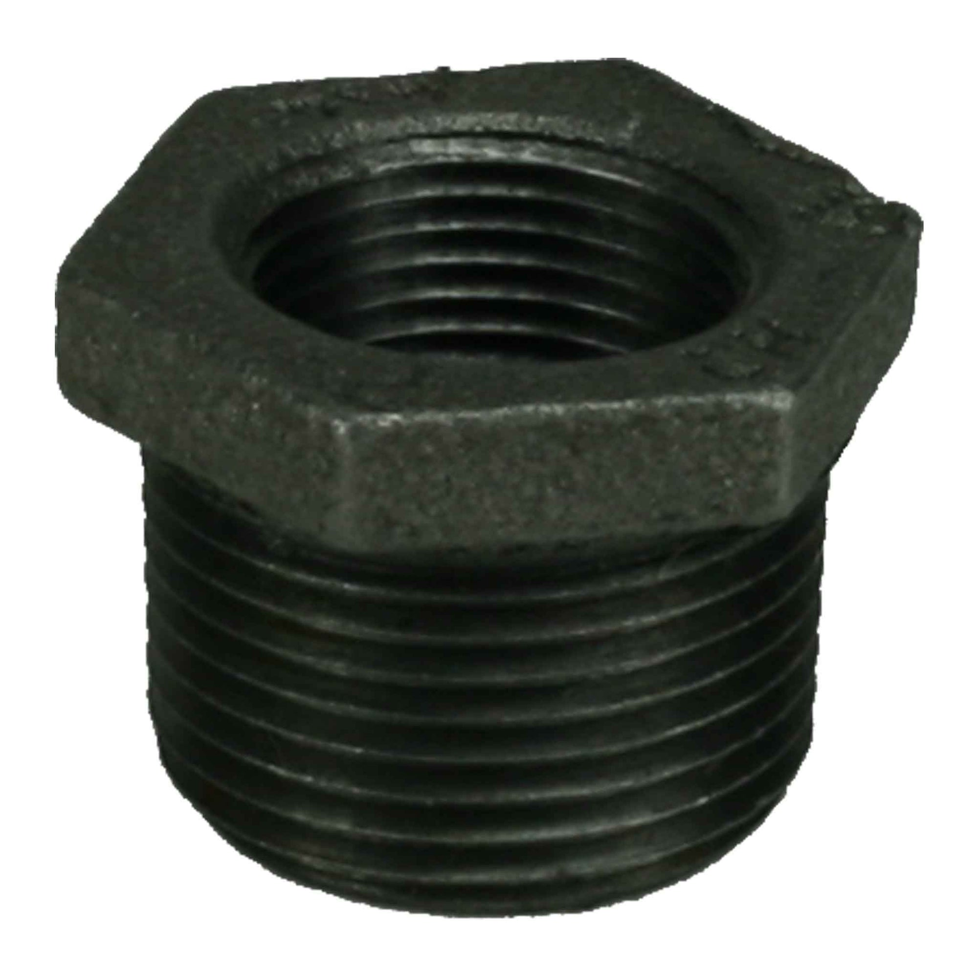 "1"" x 3/4"" Black Iron Bushing"