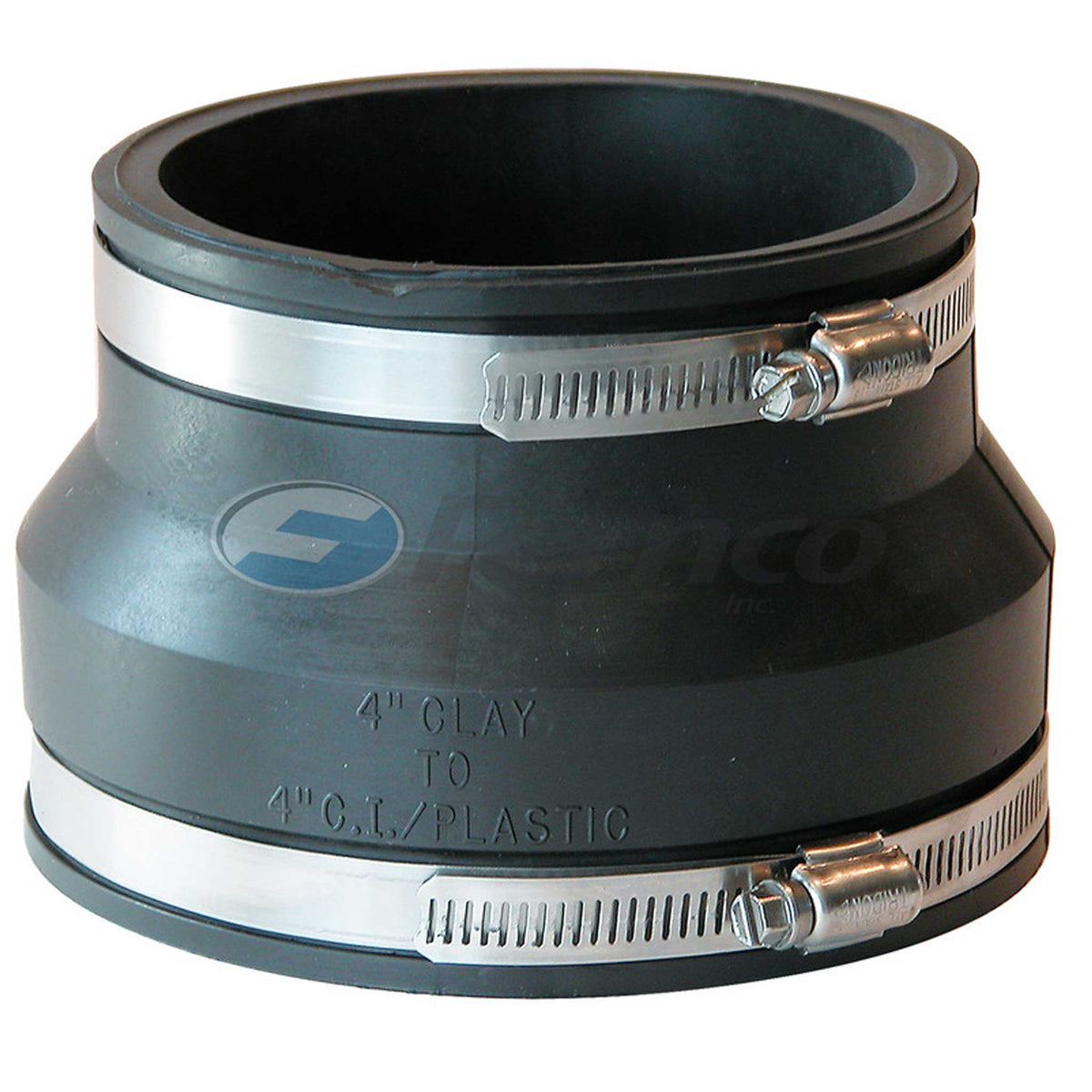 Fernco Clay to PVC or C.I. Coupling