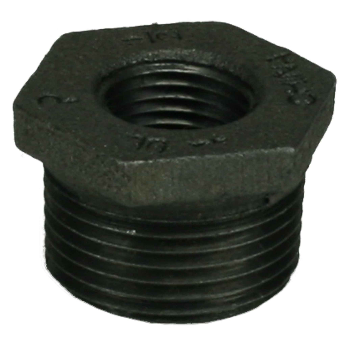 "1"" x 1/2"" Black Iron Bushing"