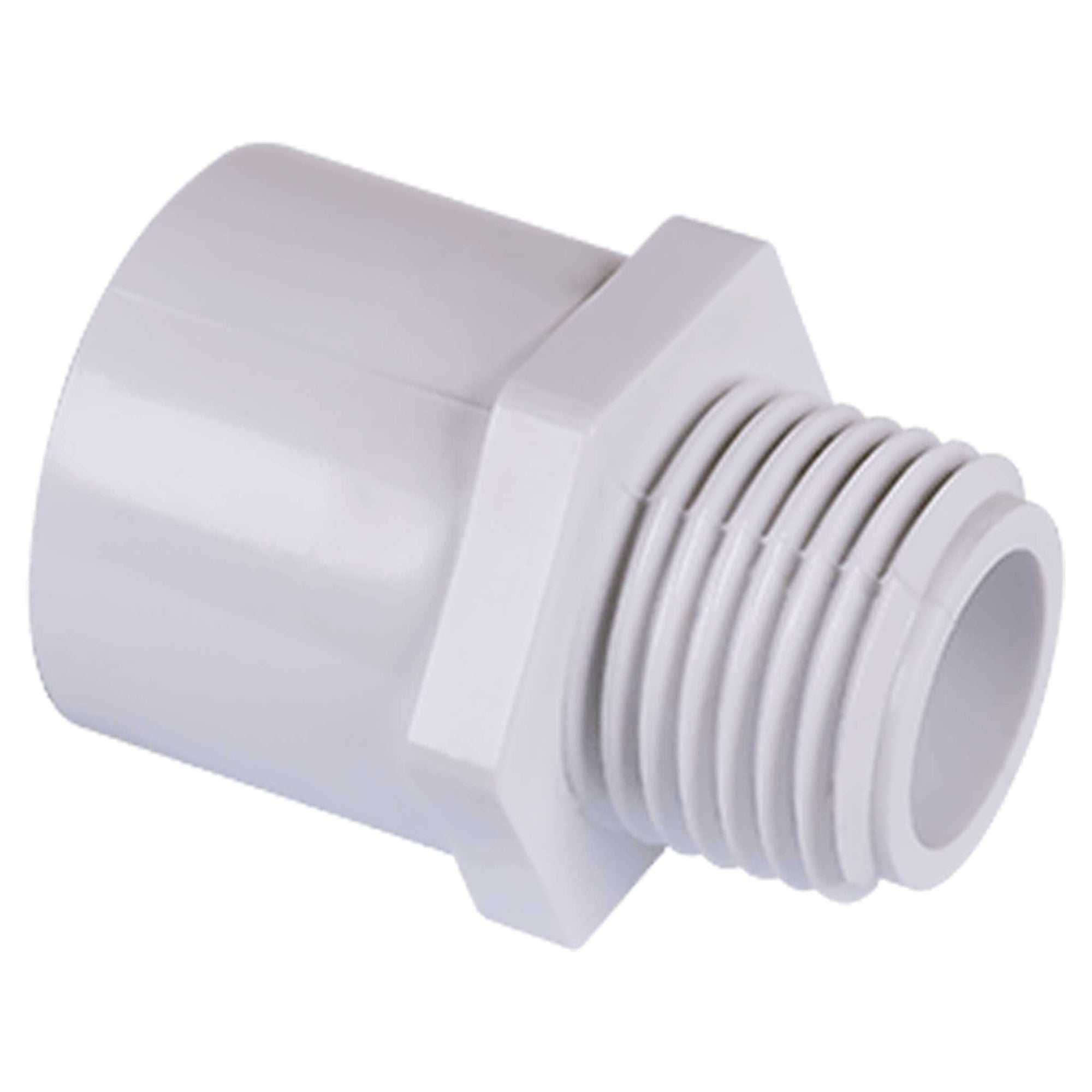 Schedule 40 PVC S x MPT Adapter