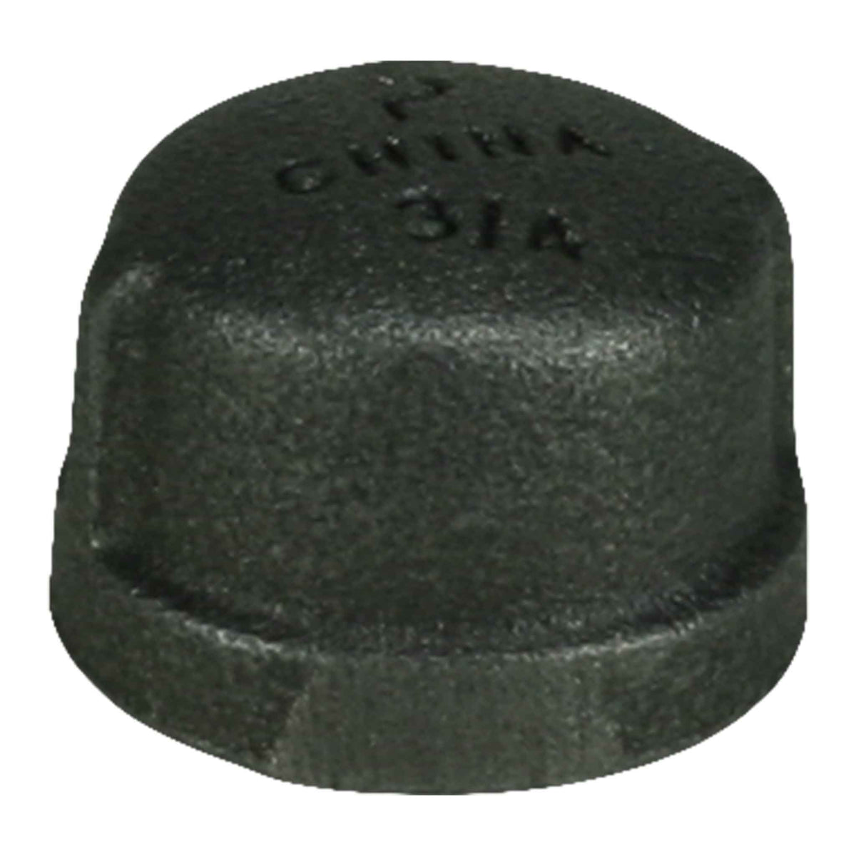 "3/4"" Black Iron Cap"