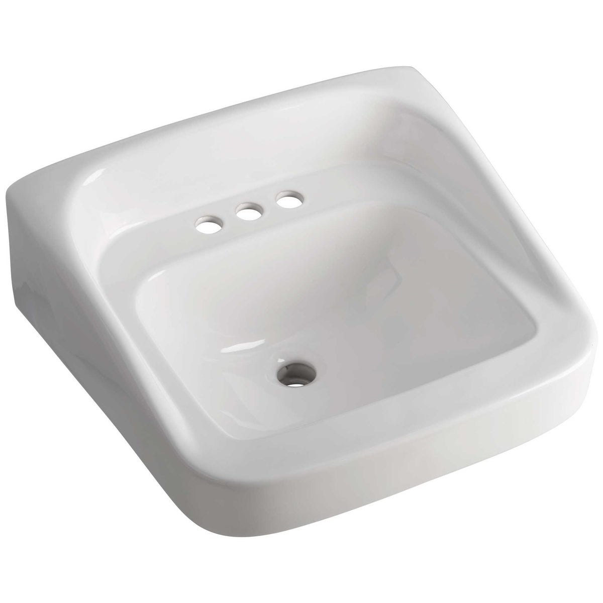 "Briggs Milton Wall-Mounted Sink 4"" Center"
