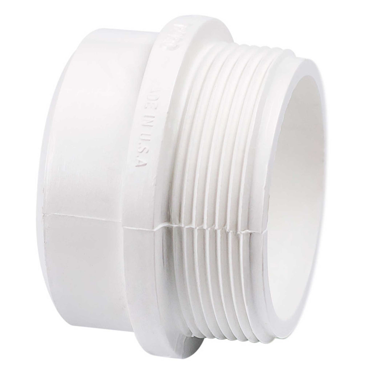 Schedule 40 PVC DWV Trap Adapter-Male