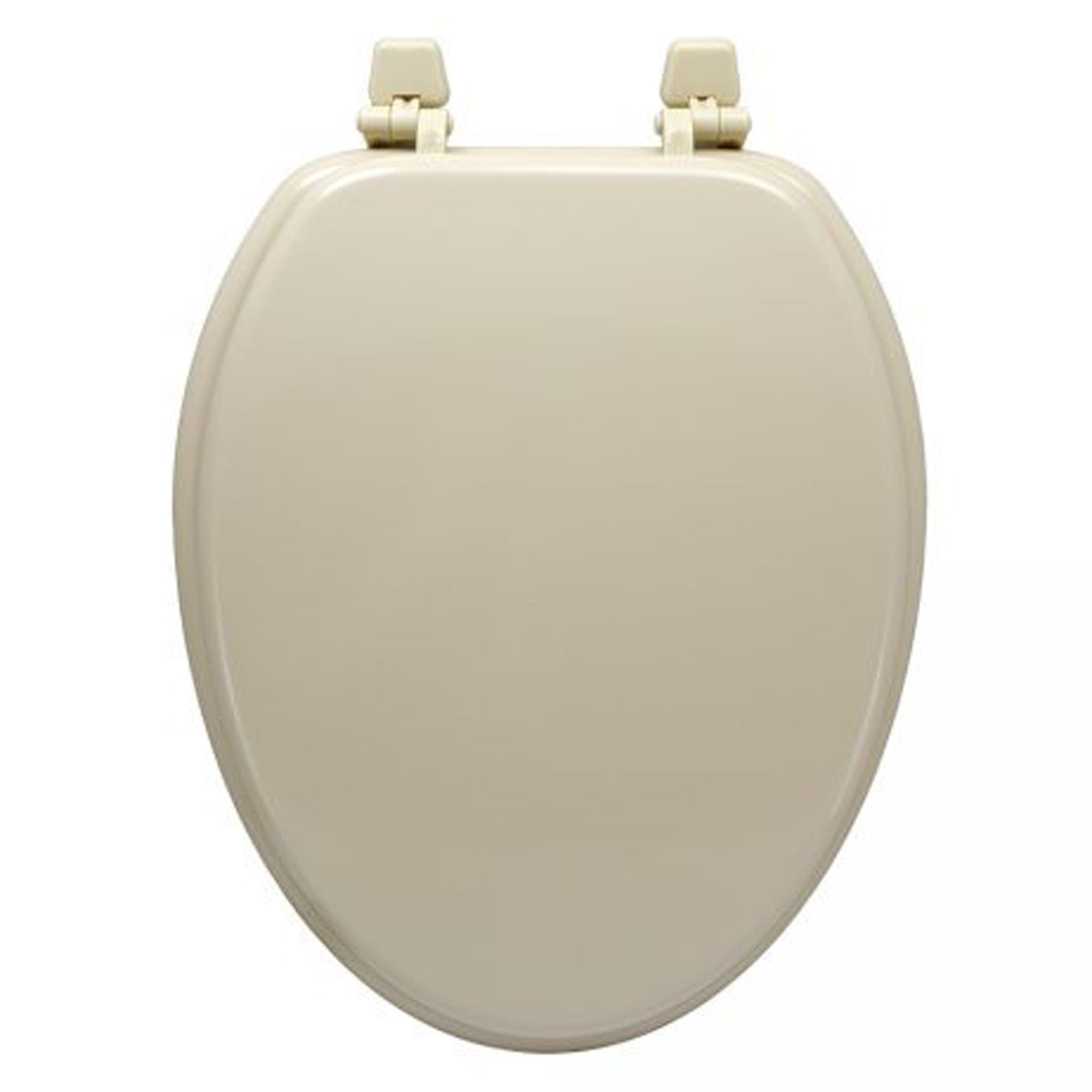 Elongated Bone Toilet Seat