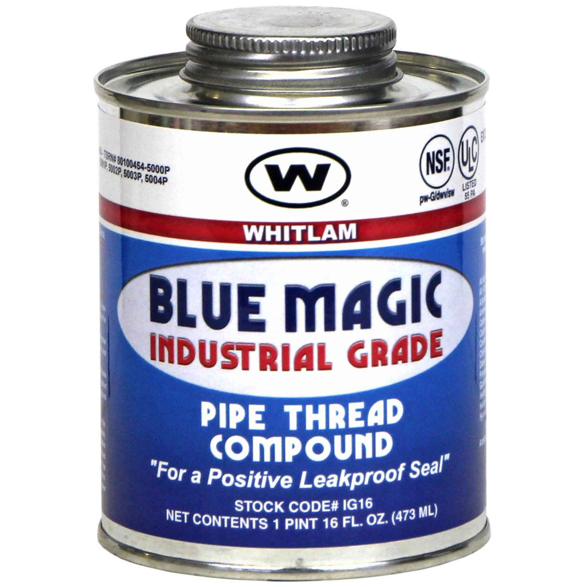 """BLUE MAGIC"" INDUSTRIAL GRADE PIPE THREAD COMPOUND"