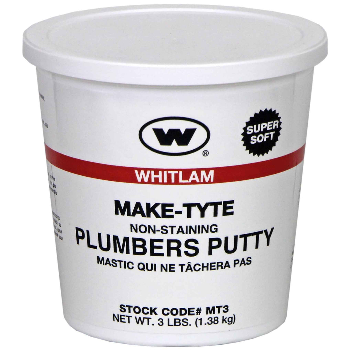 """MAKE-TYTE"" STAINLESS PLUMBER'S PUTTY"