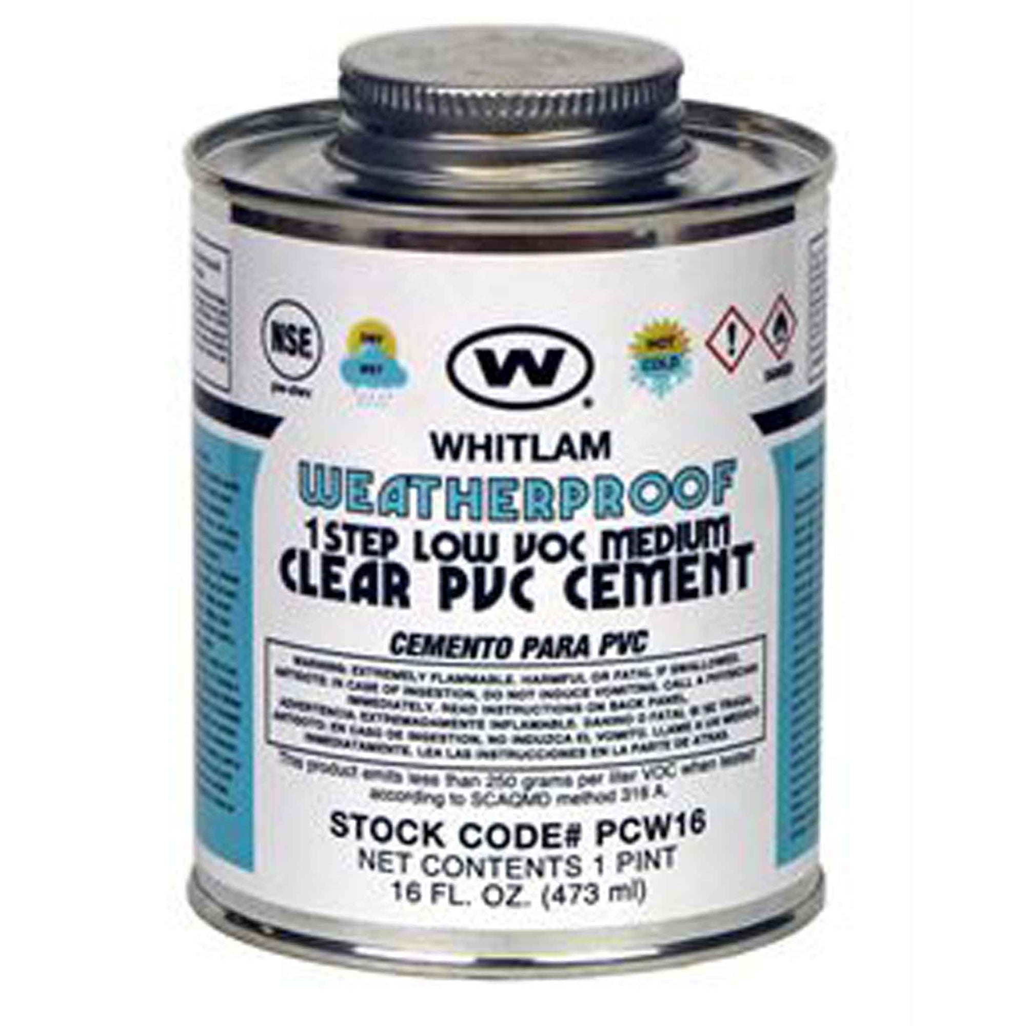 WEATHERPROOF Clear Medium Bodied Cement