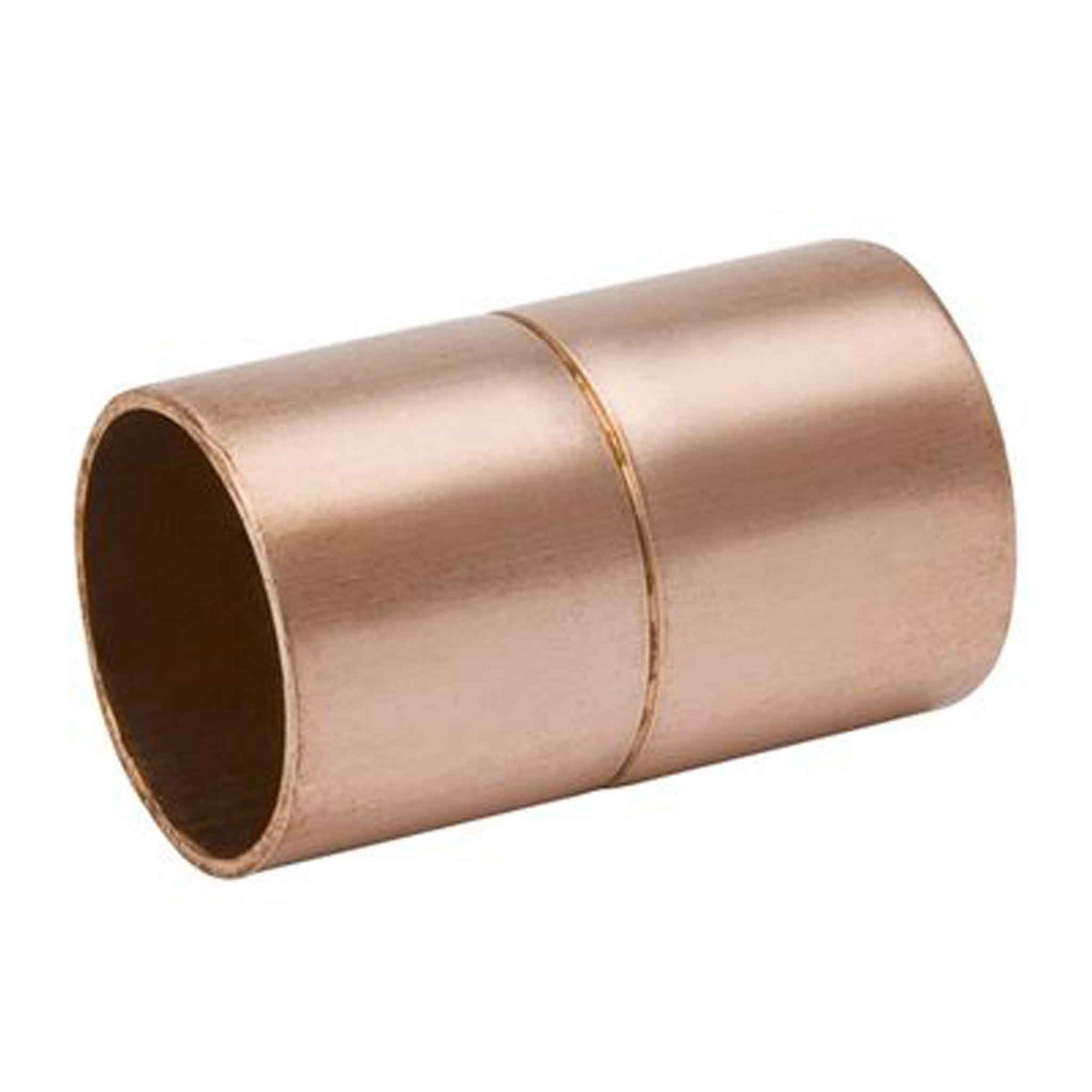 Copper Coupling w/Ring Stop